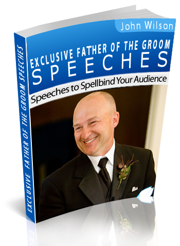 Father of the Groom Speech book
